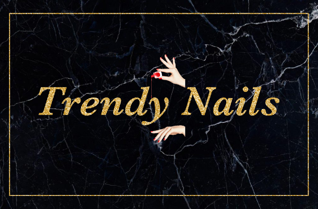 Trendy Nails                             Logo