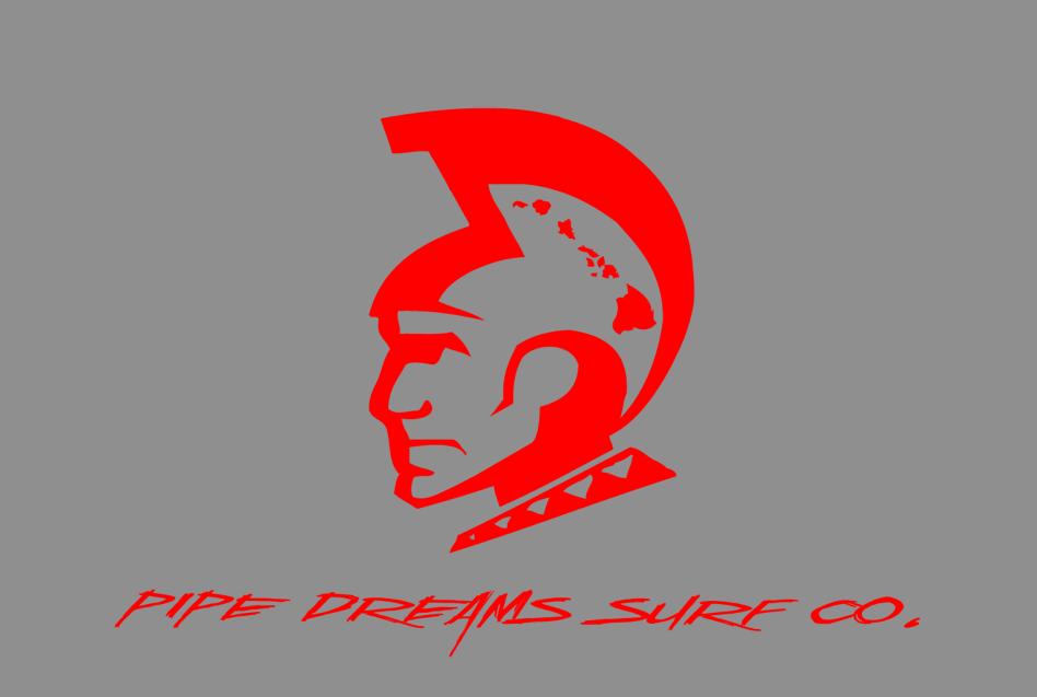 パイプ・ドリームス・サーフカンパニー Logo