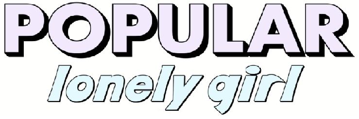 Popular Lonely Girl Logo
