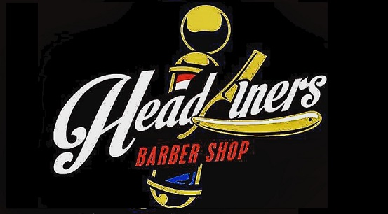 Headliner's Barber Shop                  Logo