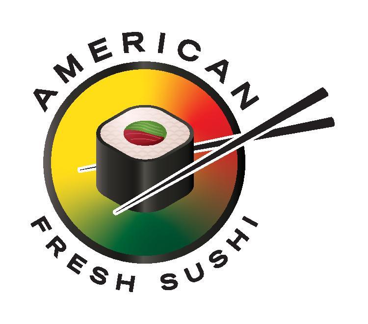 American Fresh Sushi Logo