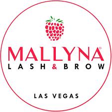 Mallyna Lash & Brow Logo