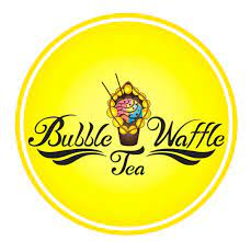 Bubble Waffle & Tea Logo
