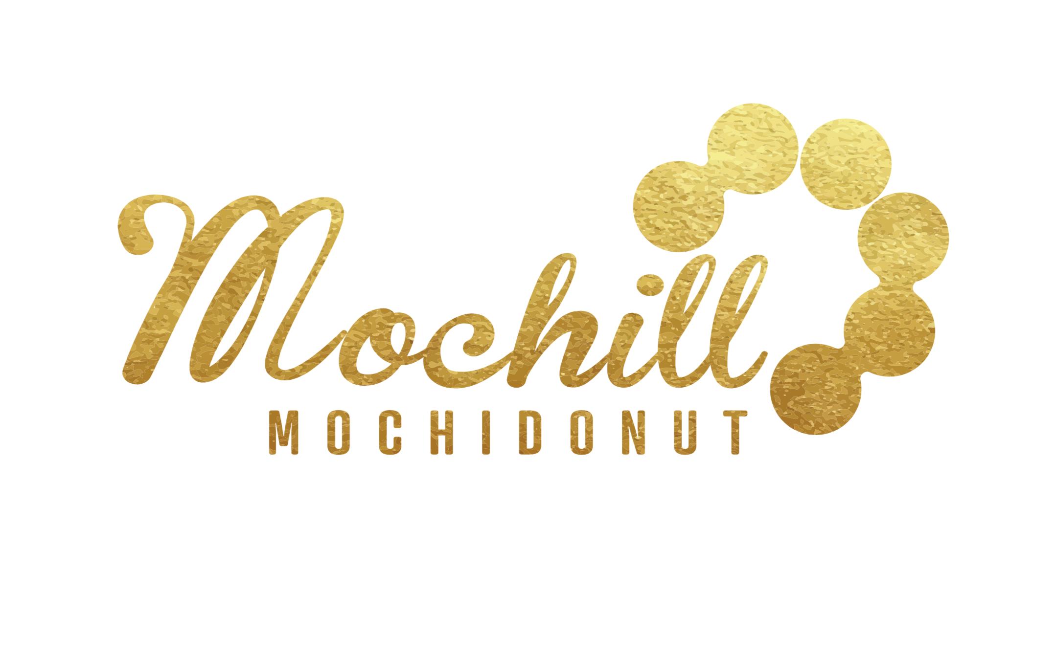 Mochill Mochi Donut Logo
