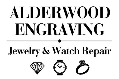 Alderwood Engraving Jewelry & Watch Repair Logo