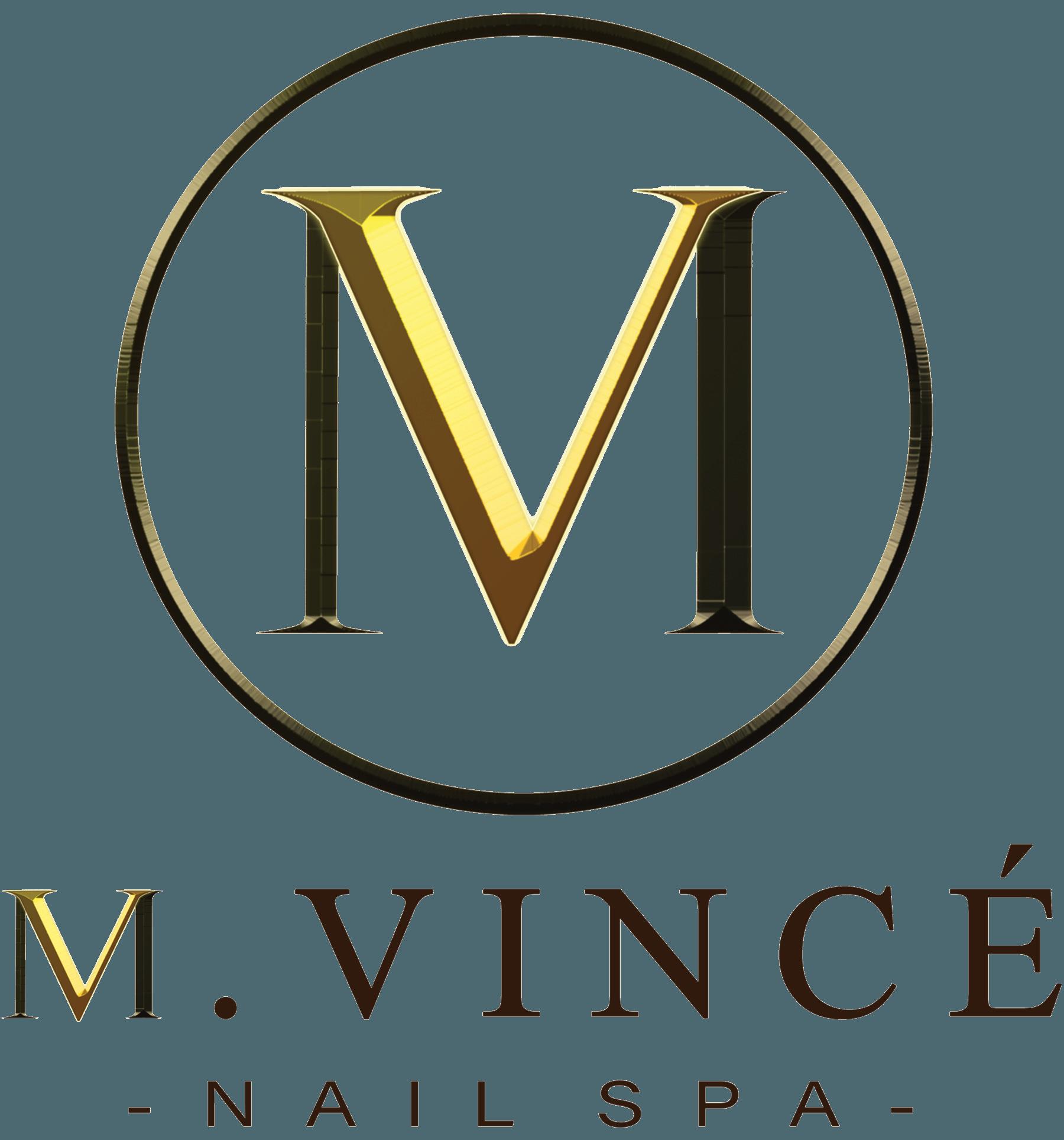 M. Vince' Nail Spa Logo